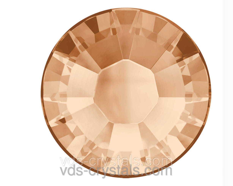 Кристаллы Swarovski клеевые горячей фиксации 2038 Light Peach F (362)(упаковка 1440 шт.)