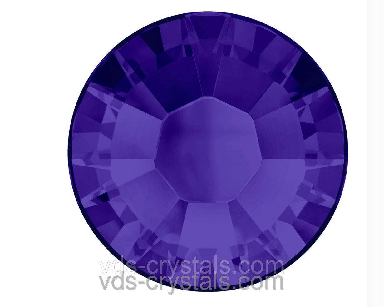 Кристали Сваровскі клейові гарячої фіксації 2038 Purple Velvet F (277)(упаковка 1440 шт.)