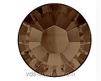 Кристаллы Swarovski клеевые горячей фиксации 2038 Smoked Topaz F (220)