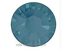 Стразы Сваровски клеевые холодной фиксации 2058 Caribbean Blue Opal F (394)
