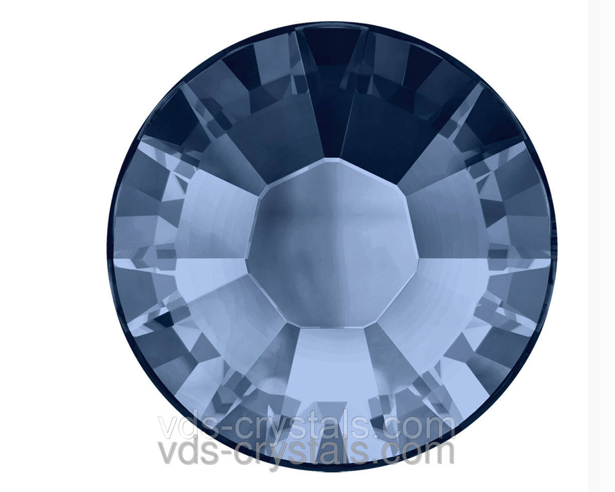 Кристаллы Swarovski клеевые холодной фиксации 2058 Montana F (207)