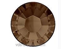Кристаллы Сваровски клеевые холодной фиксации 2058 Smoked Topaz F (220)