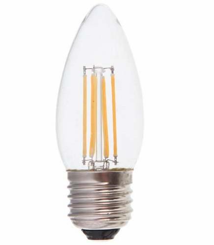 Feron светодиодная лампа LB-58 C37 E27 4000K