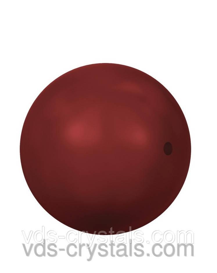 Жемчуг Swarovski круглый 5810 Crystal Red Coral Pearl (001 718)