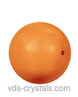 Жемчуг Сваровски круглый 5810 Crystal Neon Orange Pearl (001 733)