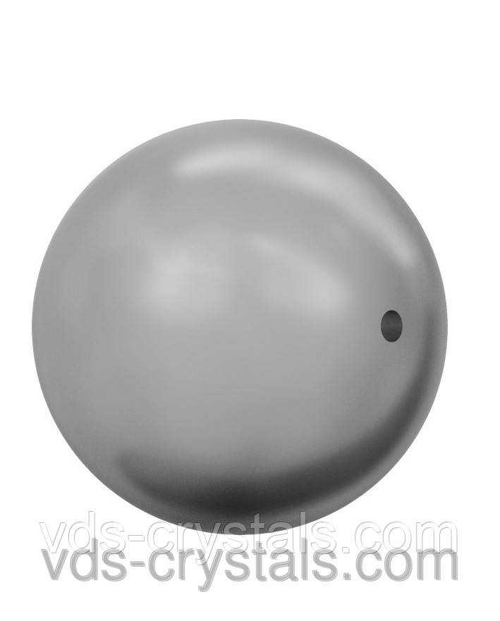 Перли Swarovski круглий 5810 Crystal Grey Pearl (001 731)
