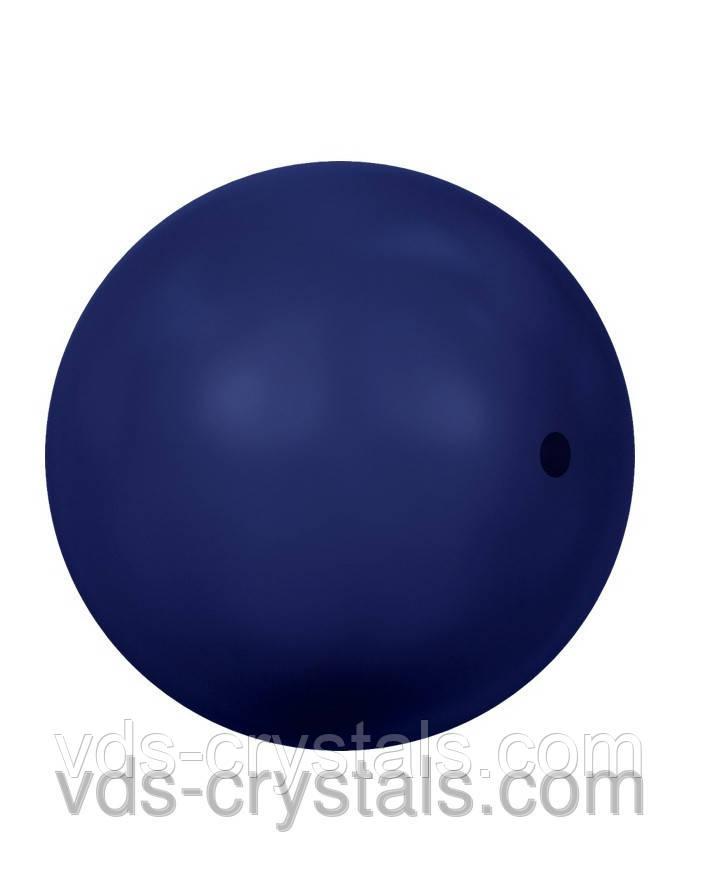 Жемчуг Сваровски круглый 5810 Crystal Dark Lapis Pearl (001 719)