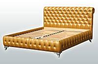 """Кровать """"Клеопатра""""с мягким изголовьем 1,8"""