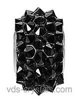 Бусины Swarovski crystals 180401 Jet (280)
