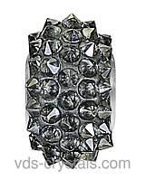 Бусины Swarovski пандора украшения 80401 Crystal Silver Shade (001 SSHA)