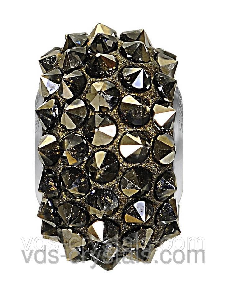 Бусины Swarovski пандора украшения 80401 Crystal Metallic Light Gold (001 MLGLD)
