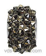 Намистини Swarovski пандора прикраси 80401 Crystal Metallic Light Gold (001 MLGLD)