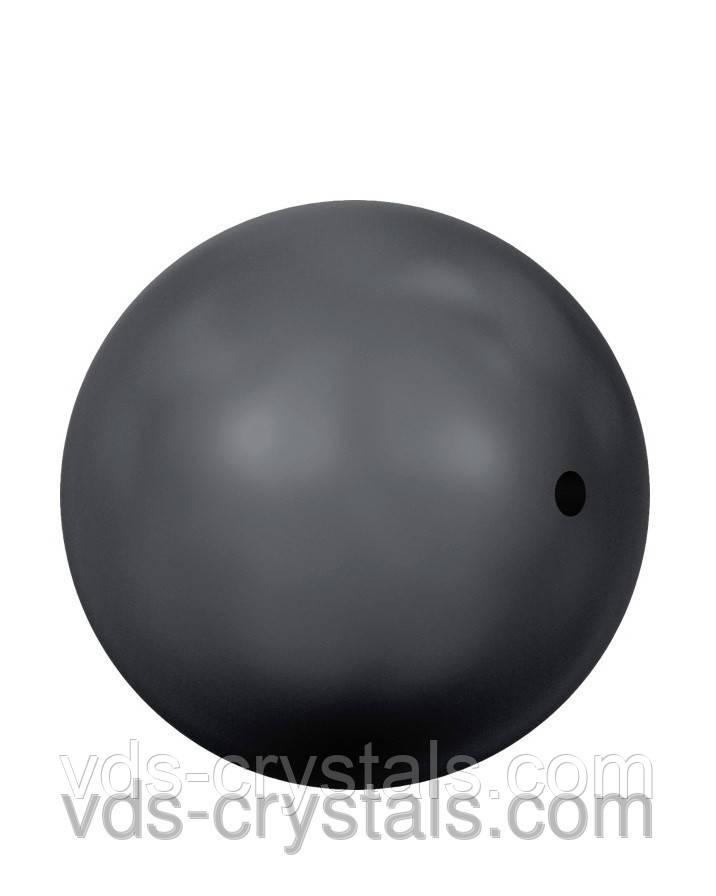 Жемчуг Swarovski круглый 5810 Crystal Black Pearl (001 298)