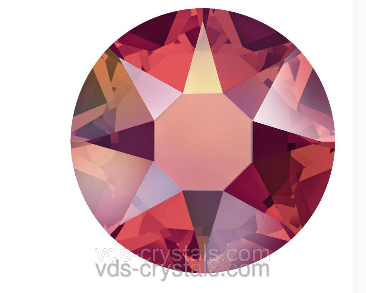 Кристали Swarovski клейові гарячої фіксації 2078 Light Siam AB F (227 AB)