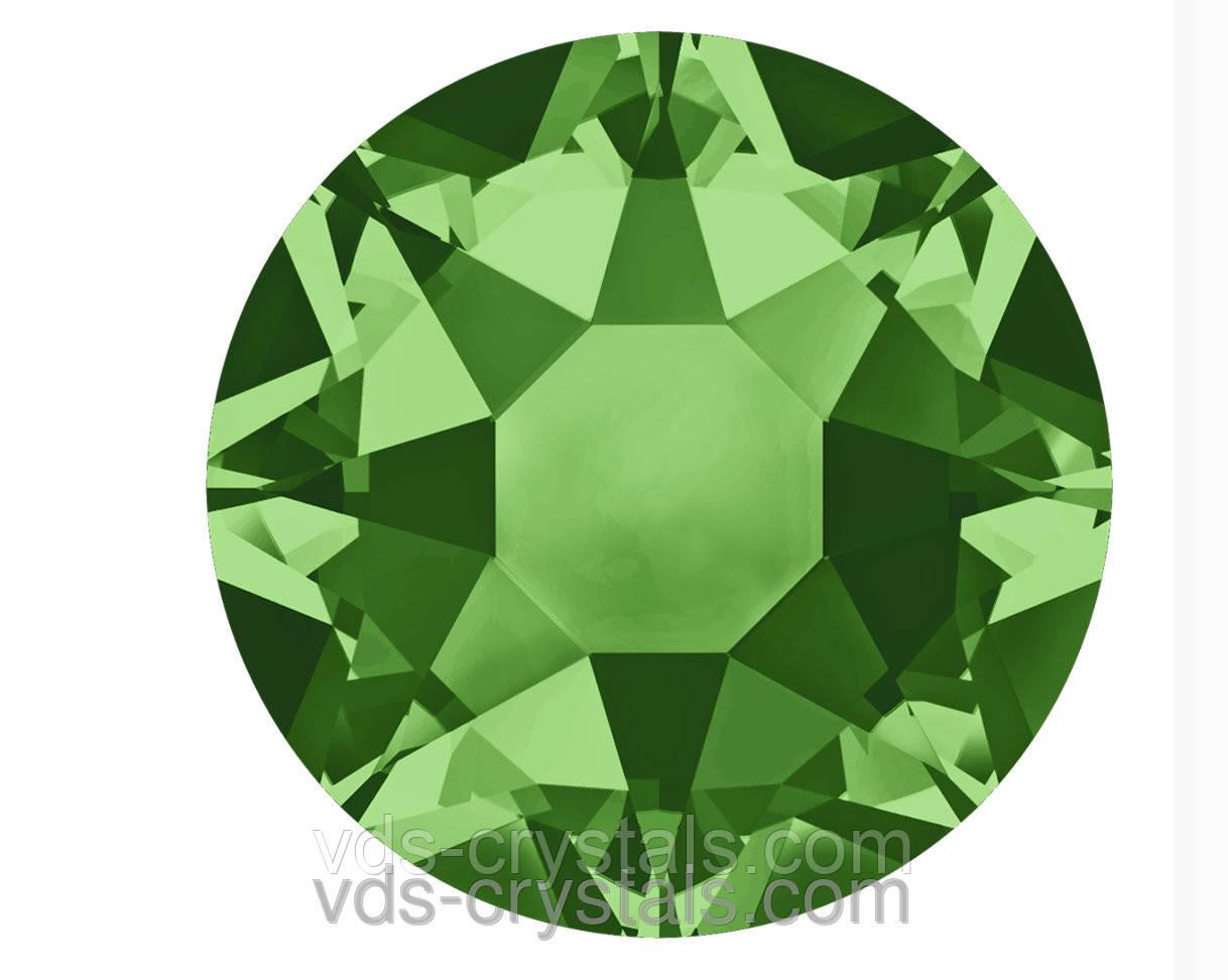 Камни Сваровски клеевые горячей фиксации 2078 Fern Green F (291) ss 12