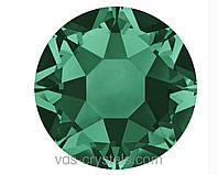Стразы Сваровски клеевые горячей фиксации 2078 Emerald F (205)