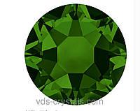 Стразы Сваровски клеевые горячей фиксации 2078 Dark Moss Green F (260)
