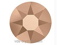 Камені Swarovski клейові гарячої фіксації 2078 Crystal Rose Gold F (001 ROGL)