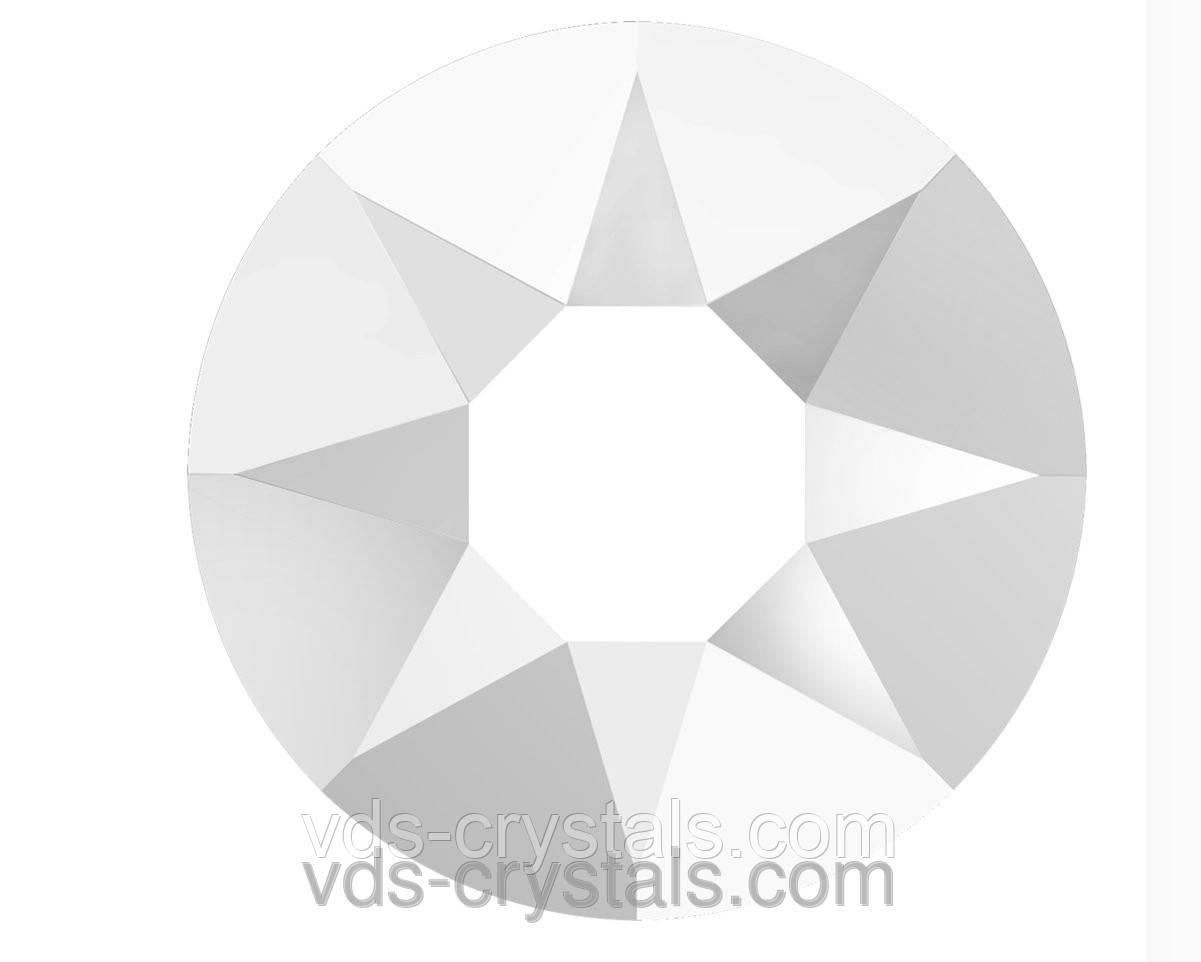 Камни Сваровски клеевые горячей фиксации 2078 chalkwhite