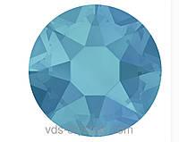 Кристали Сваровскі клейові гарячої фіксації 2078 Caribbean Blue Opal F (394)