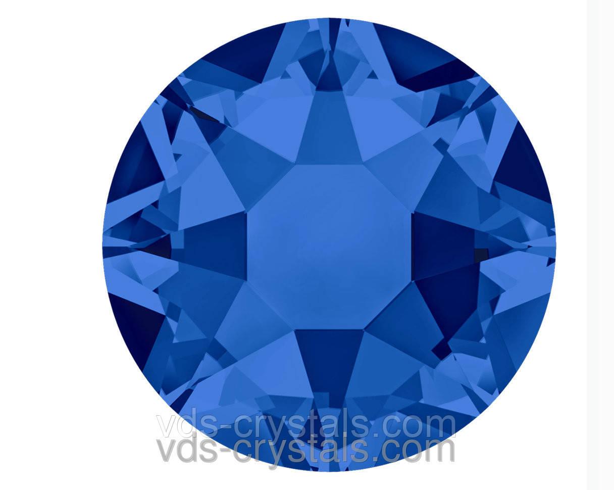 Клейові стрази Swarovski гарячої фіксації 2078 Capri Blue F (243)