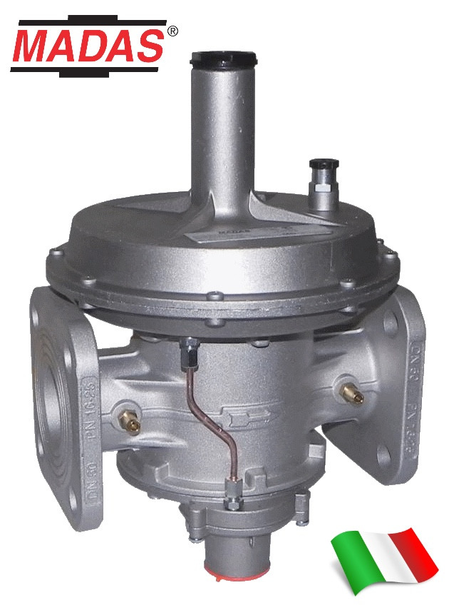 Регулятор давления газа RG/2MBZ, DN40 фланцевый, Madas
