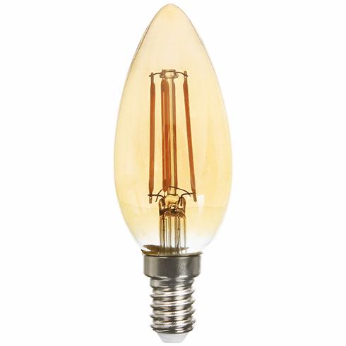 Feron светодиодная лампа LB-158 C37 E14 2200K