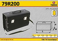Кофр для инструмента кожаный,  TOPEX  79R200