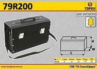 Кофр для инструмента кожаный,  TOPEX  79R200, фото 1
