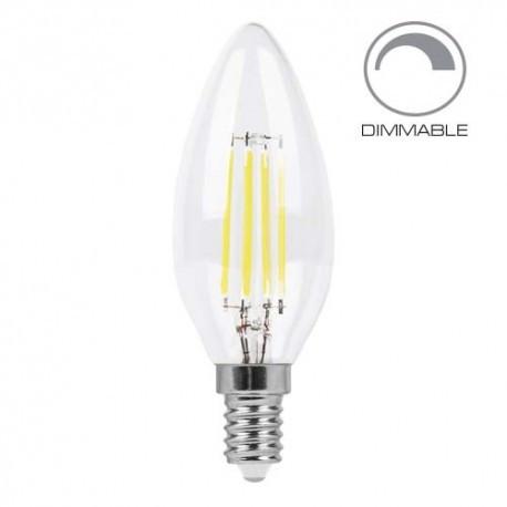 Feron светодиодная лампа LB-68 Dim C37 E14 4000K