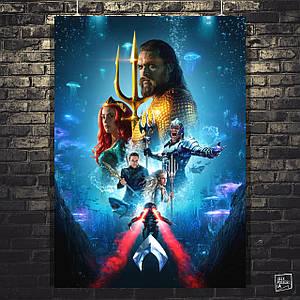 Постер Аквамен, Aquaman (2018). Размер 60x43см (A2). Глянцевая бумага