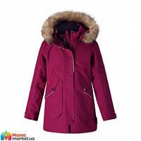 Куртка-парка зимняя для девочки Reima Inari 531372, цвет 3690