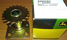 Звездочка с фланцем (6-гран.-22 мм), z=19 (AA35645) JD