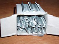 Скоба  комплект для сборки клеток- 600шт, фото 1