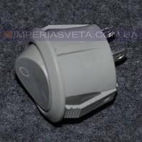 Выключатель для бра, торшера, светильника IMPERIA круглый, встраиваемый LUX-402120