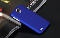 Чехол накладка бампер для Lenovo S820 синий