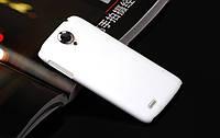Чохол накладка на бампер для Lenovo S820 білий, фото 1