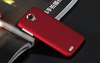 Чехол накладка бампер для Lenovo S820 бордовый, фото 1