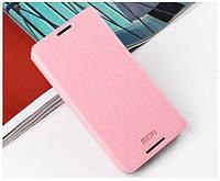 Кожаный чехол книжка MOFI для Sony Xperia E3 D2212 D2202 розовый, фото 1