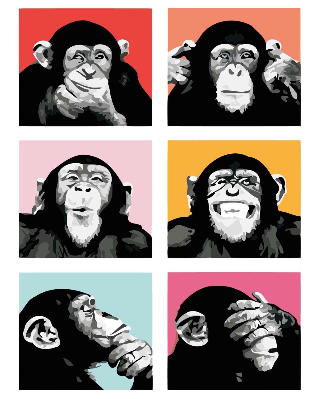 Художественный творческий набор, картина по номерам Эмоции, 40x50 см, «Art Story» (AS0396)