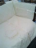 Набор в кроватку для новорожденных ''Восторг''