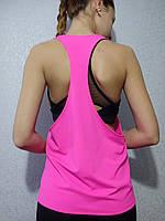 Спортивная майка-разлетайка розовая, фото 1
