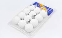 Набор мячей для настольного тенниса GIANT DRAGON, целлулоид, d-40мм., 12шт. (MT-6558-W), фото 1