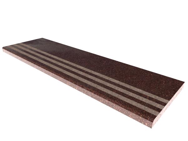 Ступени гранитные  Токовские с термополосой 1000×250×30