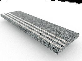 Ступени гранитные  Покостовские с термополосой  1000×250×30