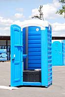 Пластиковая туалетная кабина мобильная