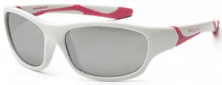 Детские солнцезащитные очки Koolsun серии Sport (Размер: 6+) Детские солнцезащитные очки Koolsun бело-розовые серии Sport (Размер: 6+)