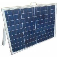 Солнечная электростанция раскладная переносная 50Вт 12Вольт