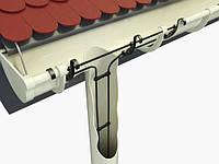 34м Woks-23 обогрев водосточной трубы и желоба