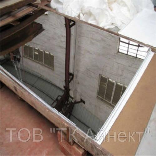 Лист нержавеющий AISI 430 6Х1250Х2500 мм 2B+PVC полированый, матовый, шлифованный от 0.4 мм до 10 мм